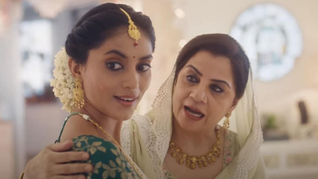A still from the Tanishq ad.