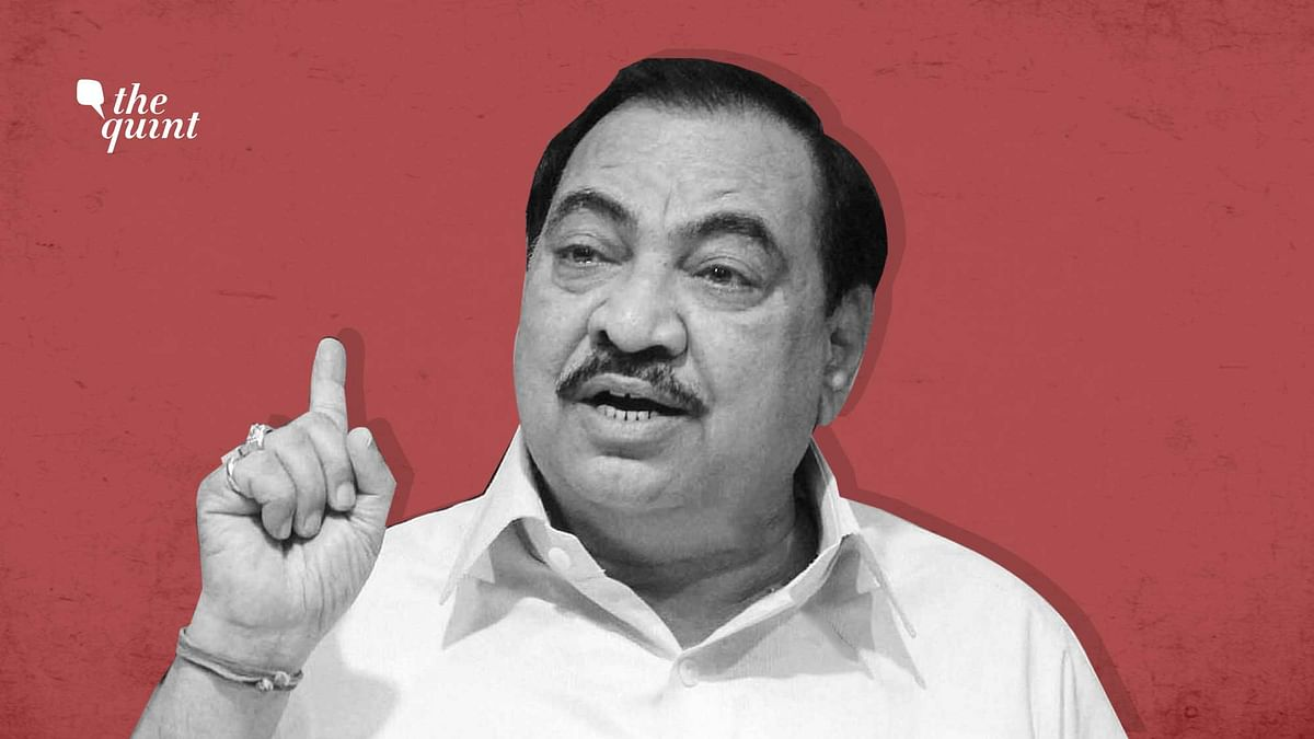 BJP Rendered Me Useless After My 35 Years of Hard Work: Khadse