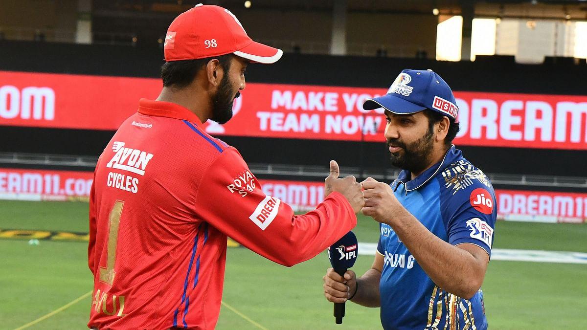 Mumbai Indians skipper Rohit Sharma won the toss and chose to bat against Kings XI Punjab, led by KL Rahul