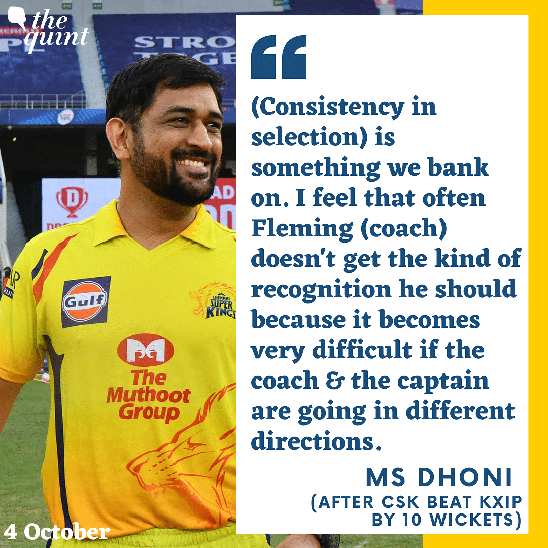 MS Dhoni Speaks After CSK Pull Off Biggest Win Of IPL 2020