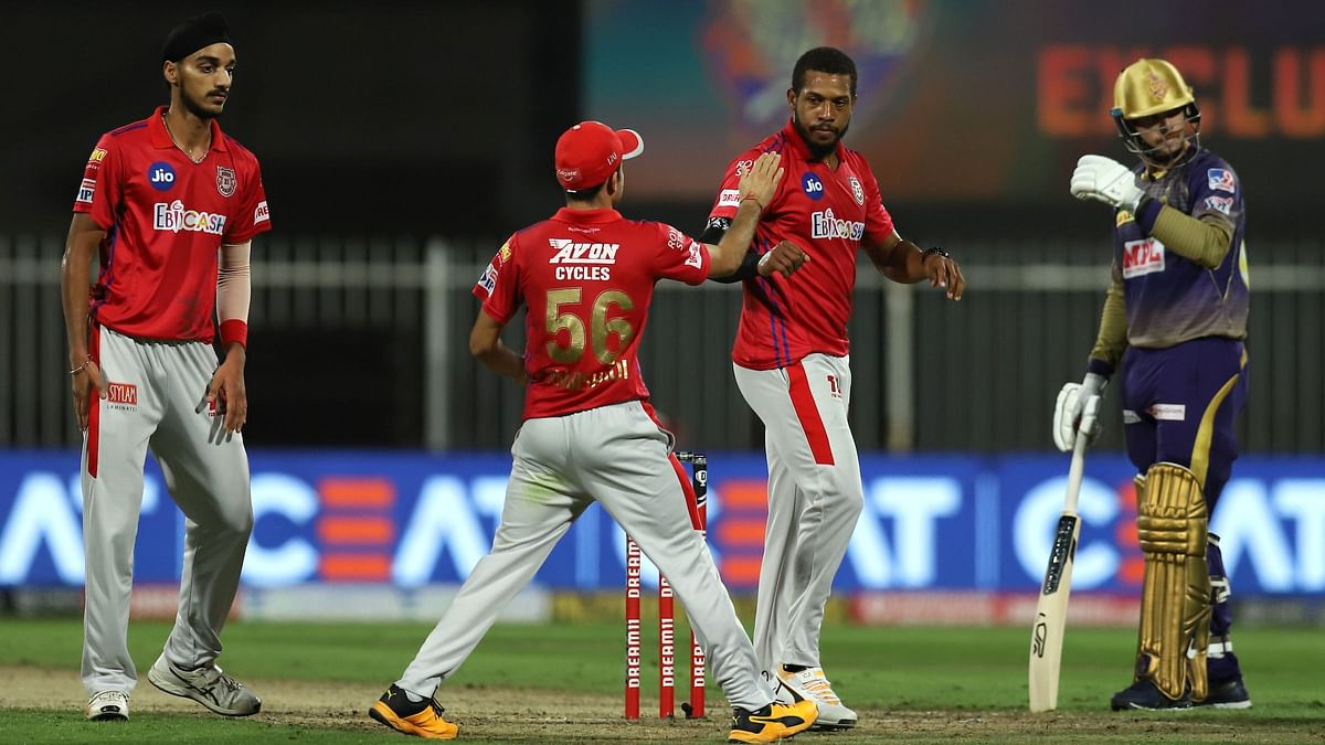 KXIP won the toss and elected to field first.
