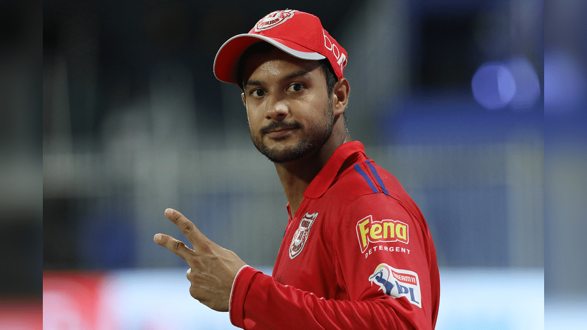 Kings XI Punjab opener Mayank Agarwal has taken over the Orange Cap from his captain KL Rahul.