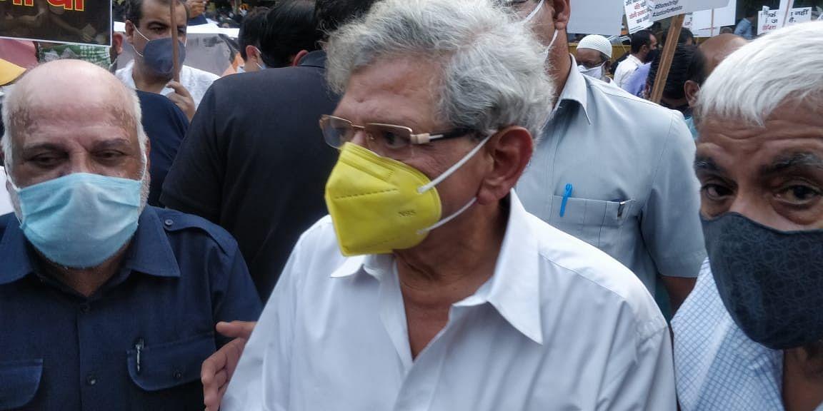 Oppn, Citizens Throng Delhi's Jantar Mantar Over Hathras Case