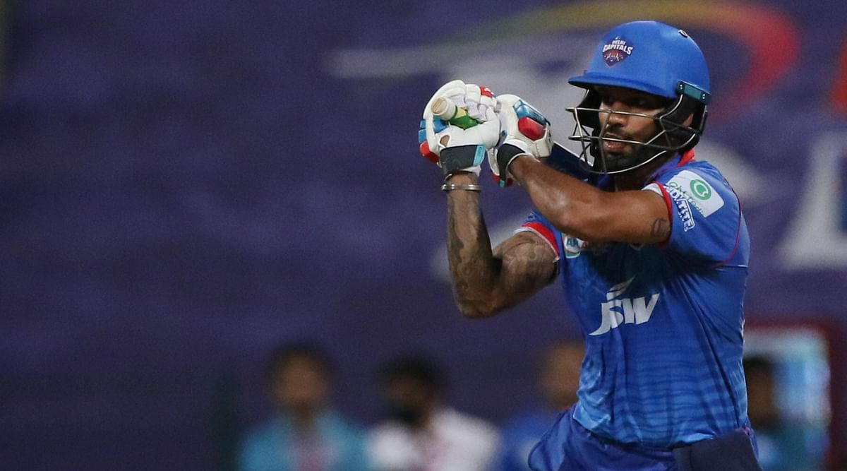 IPL 2020: Shikhar Dhawan scored a half-century off 39 balls – his first fifty this season and 38th overall in the league.