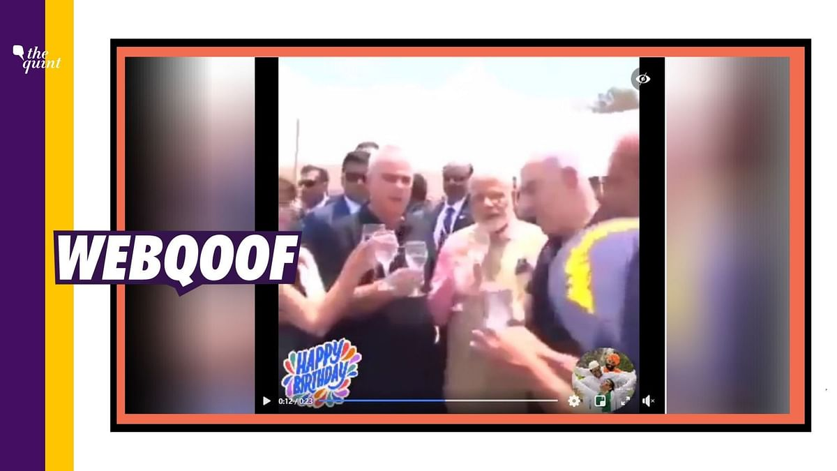 Old Video Viral as 'Modi Celebrating Birthday With Industrialists'