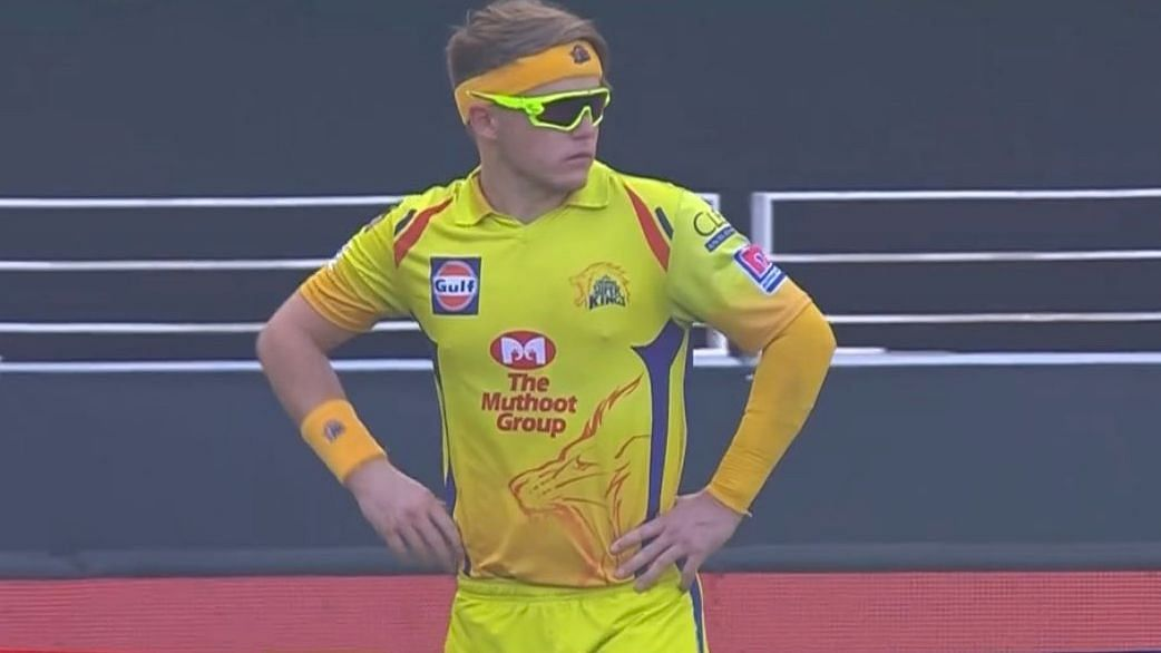 Sam Curran Shows Off His Neon Sunglasses, Twitter Finds It Cute