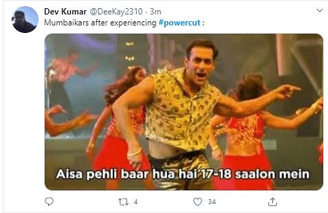 Massive Power Cut Across Mumbai, Netizens React With Memes & More
