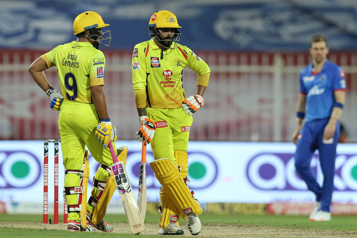 Rayudu and Jadeja stitched an unbeaten 50-run partnership off 23 balls.