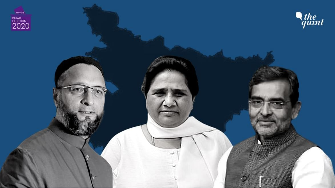 Owaisi's AIMIM Joins RLSP-BSP Third Front for Bihar Assembly Polls