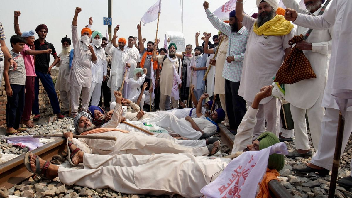 'Rail Roko' Farmers' Agitation Enters  Day 12, Extended till 8 Oct