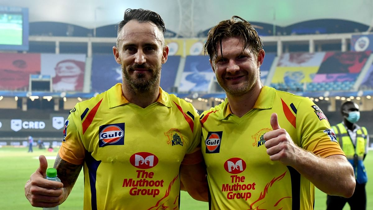 Record Faf-Watson Partnership Helps CSK beat KXIP by 10 Wickets