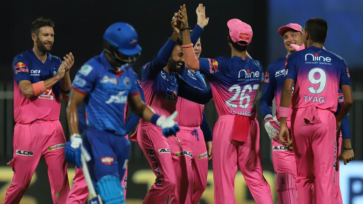 IPL 2020: Delhi Capitals are playing Rajasthan Royals at the Sharjah Cricket Stadium.