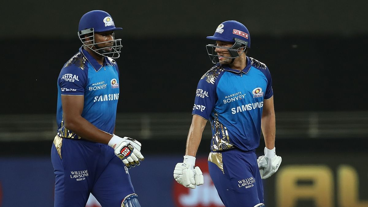 Mumbai Indians posted 176/6 against Kings XI Punjab in the Indian Premier League.