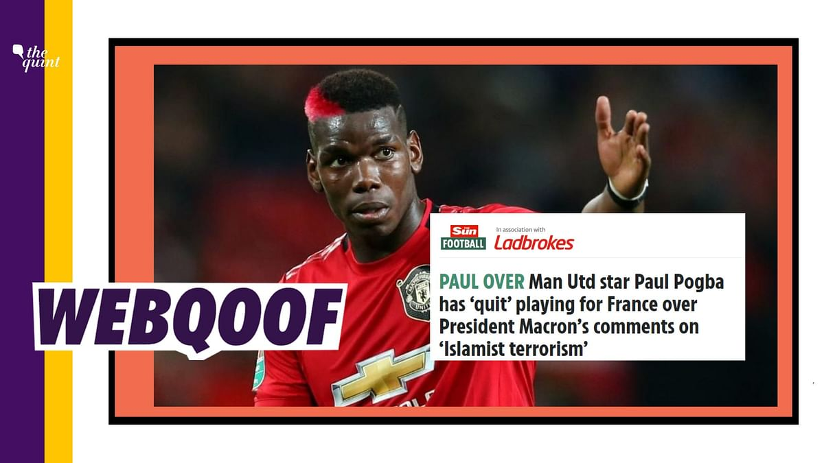 The 27-year-old footballer dismissed the reports and clarified to his fans that he had not made any such comments.