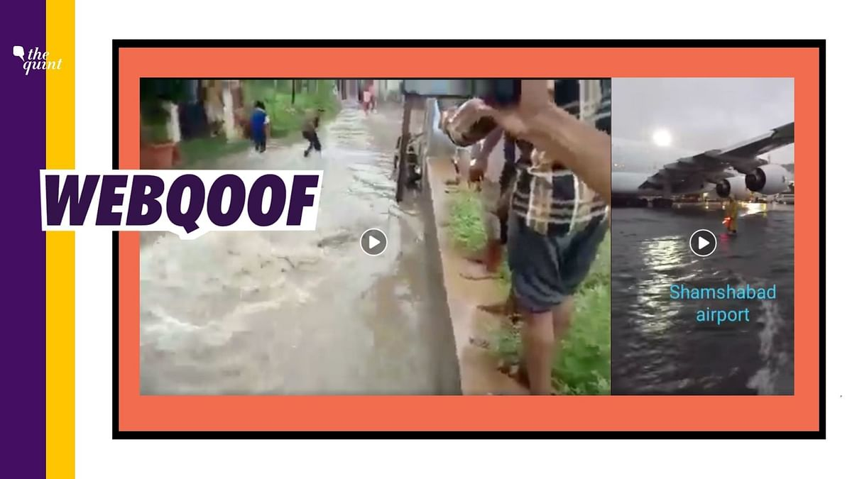 Old and unrelated videos are being circulated on social media to show the current situation of Hyderabad.