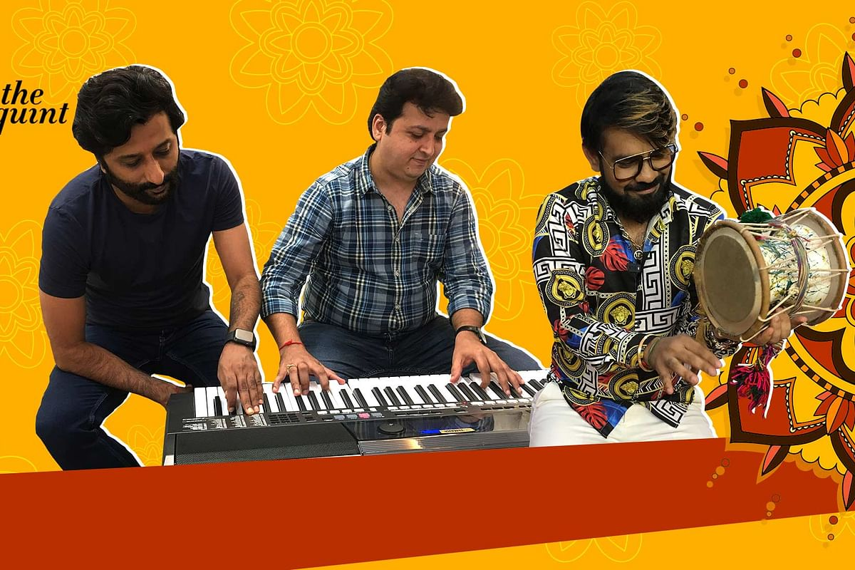 Artists are disappointed as COVID-19 fear halts big ticket Navratri events.