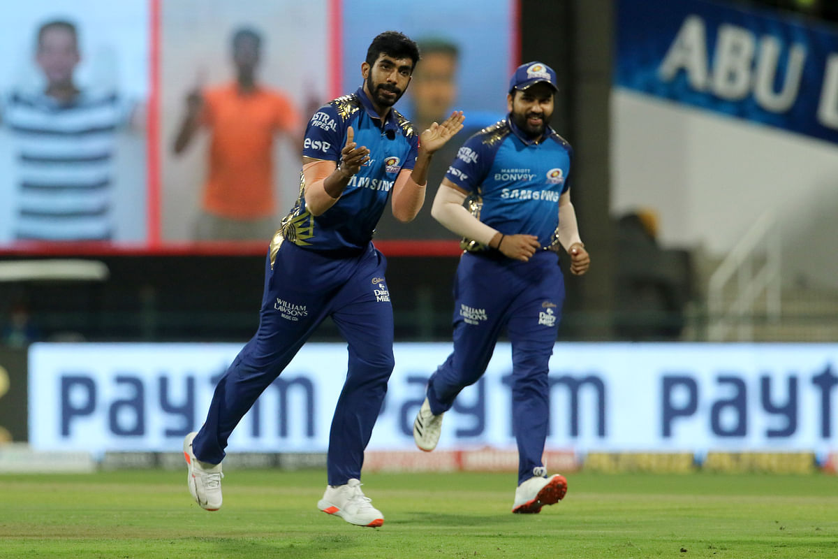 Jasprit Bumrah removed Andre Russell for 12 (off 9 balls).