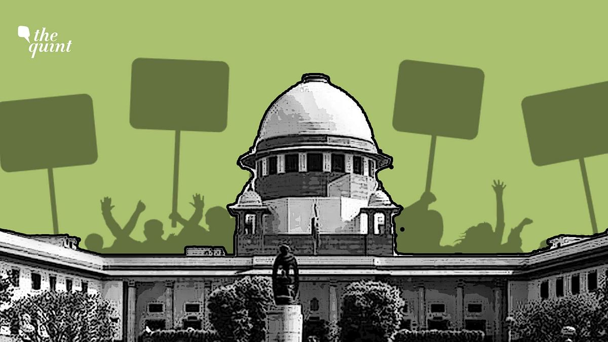 The Supreme Court delivered a judgment on the right to protest on 7 October.