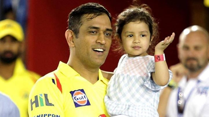 MS Dhoni's 5-year old daughter Ziva was given rape threats after CSK's loss to the Kolkata Knight Riders