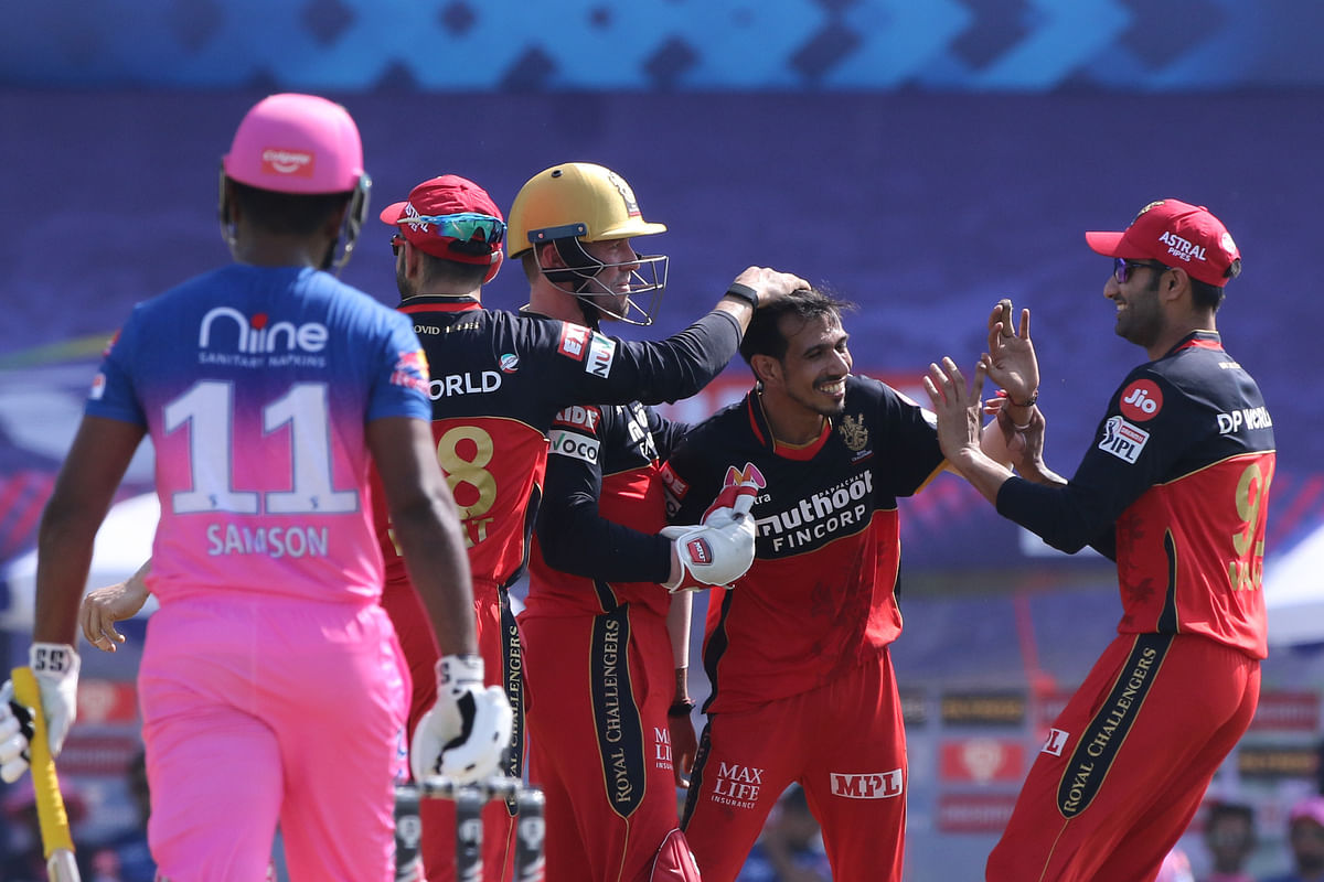 Virat Kohli-led RCB side thrashed Rajasthan Royal (RR).