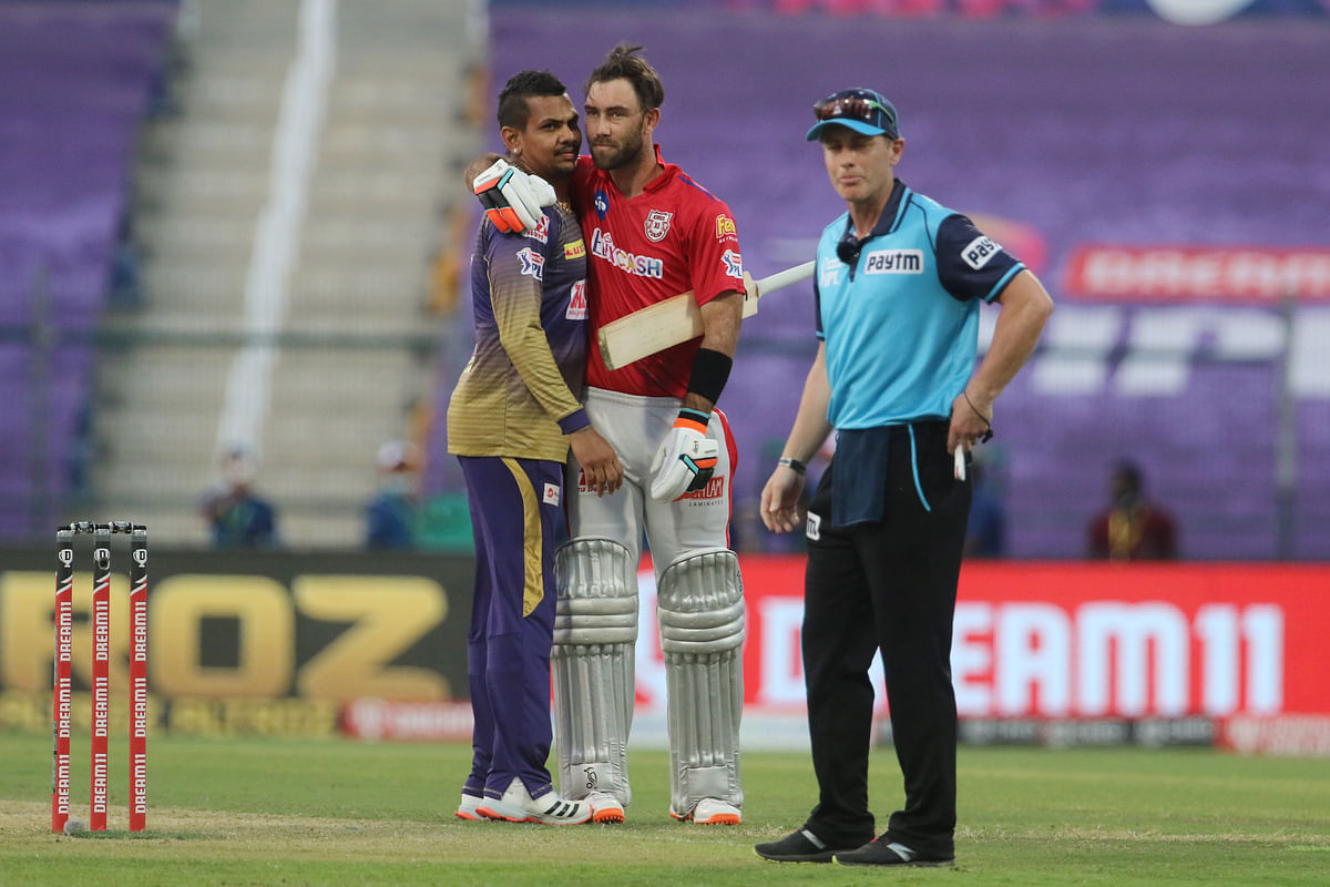 Sunil Narine defended 14 runs in the last over as KKR beat KXIP by two runs.