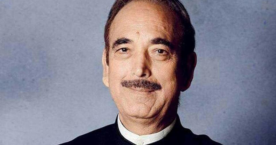 Congress MP Ghulam Nabi Azad Tests COVID +Ve, In Home Quarantine