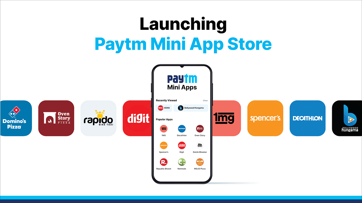 Paytm Challenges Google & Apple by Launching Its Own App Store