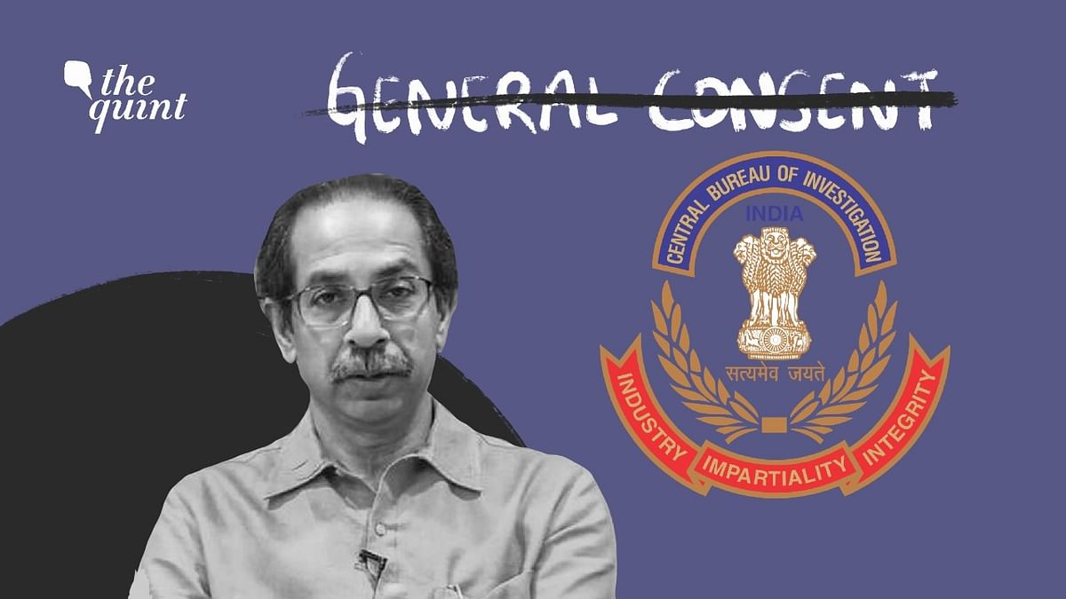 Maharashtra Chief Minister Uddhav Thackeray has withdrawn consent for the CBI to operate in the state.