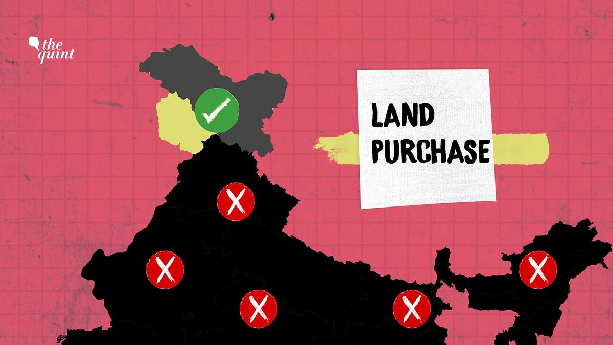 Despite J&K Changes, You Still Can't Buy Land in These States