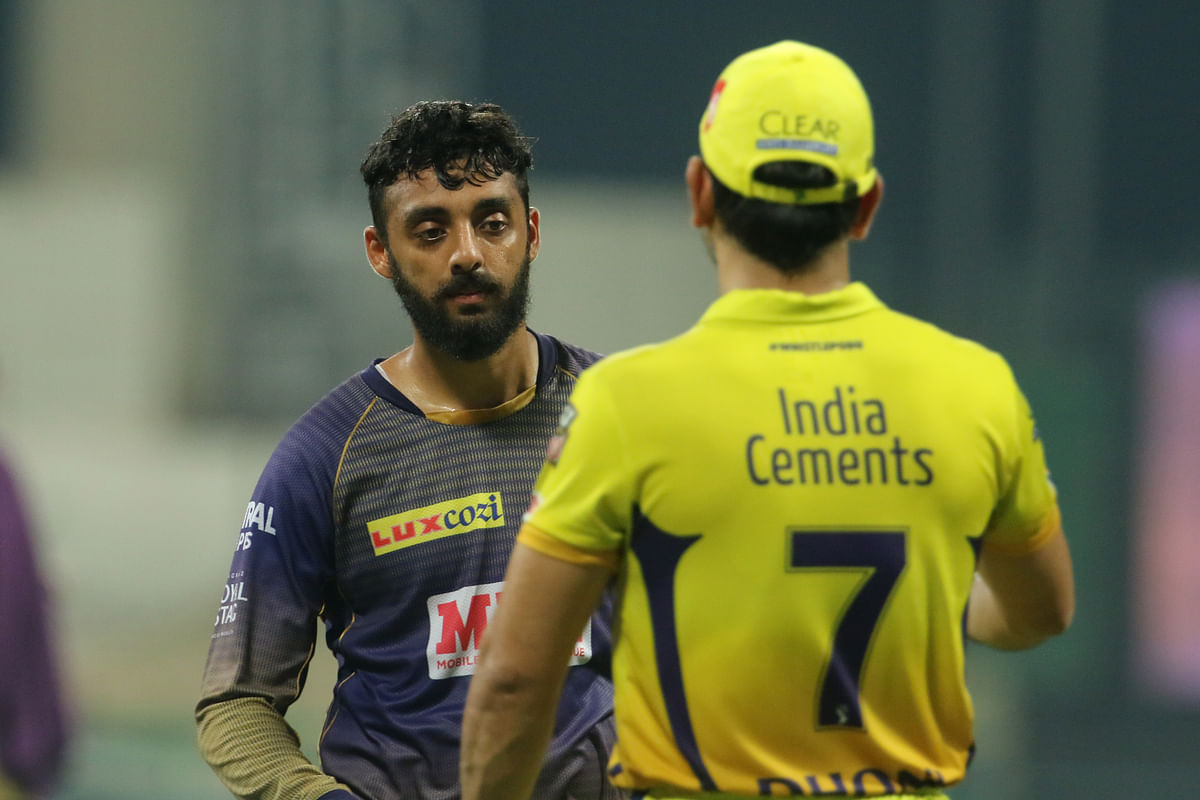 Against Chennai Super Kings, Varun Chakravarthy helped turn the game around for KKR by removing MS Dhoni.