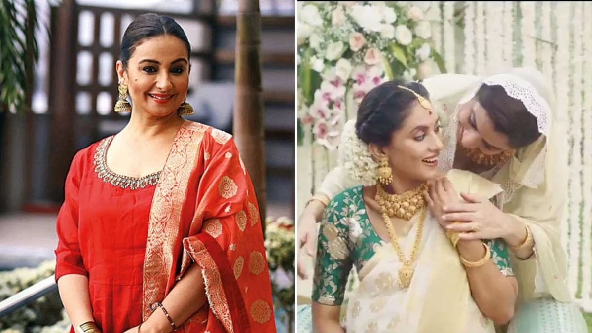 Divya Dutta had lent her voice to the Tanishq ad.
