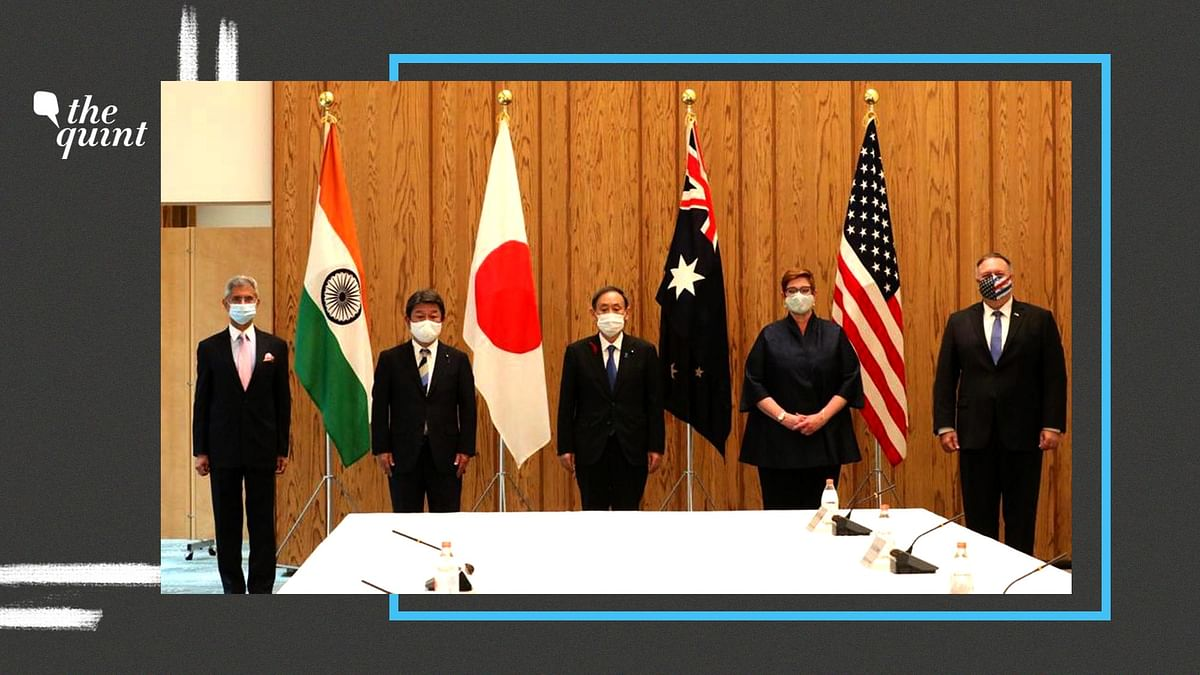 Image of QUAD leaders at the dialogue in Japan in 2020. Image used for representational purposes.