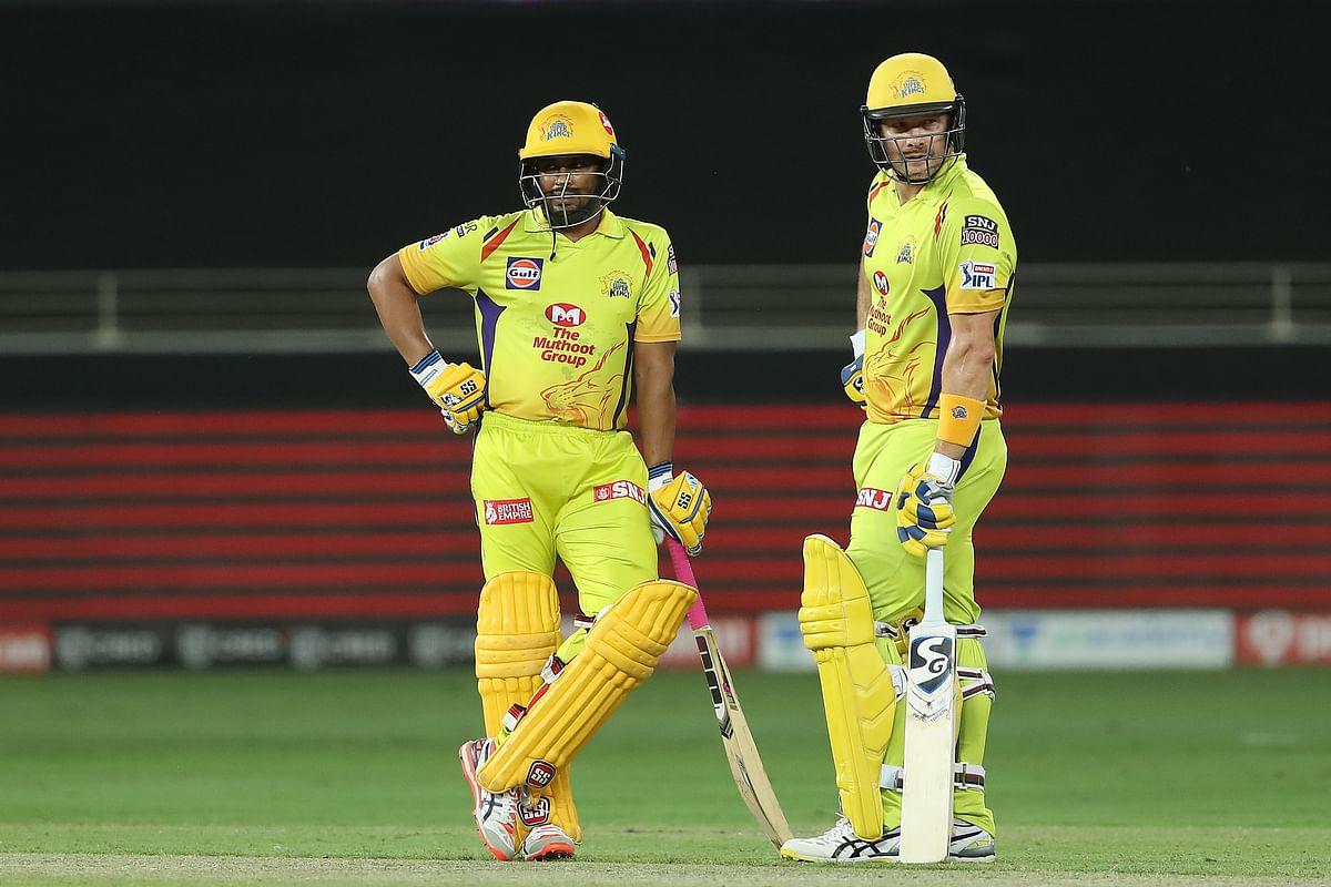 Shane Watson and Ambati Rayudu are in good form.