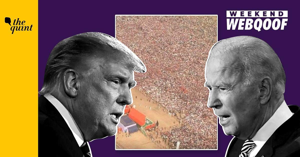 WebQoof Recap: US Prez Debate, Yogi's Rally, Tanishq Ad & more