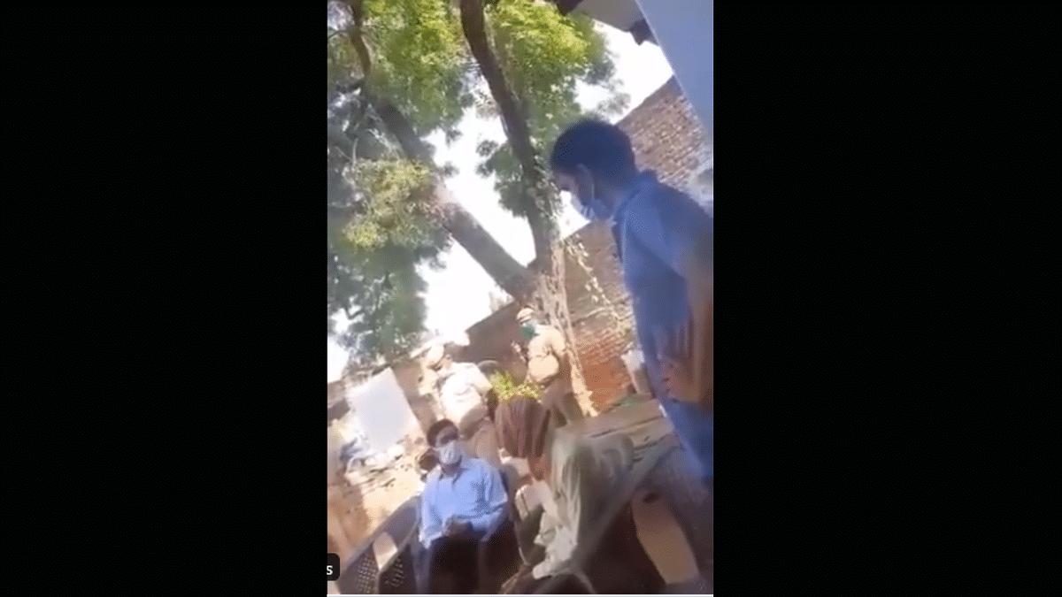 Hathras DM Denies Allegations of Intimidating Kin of Rape Victim