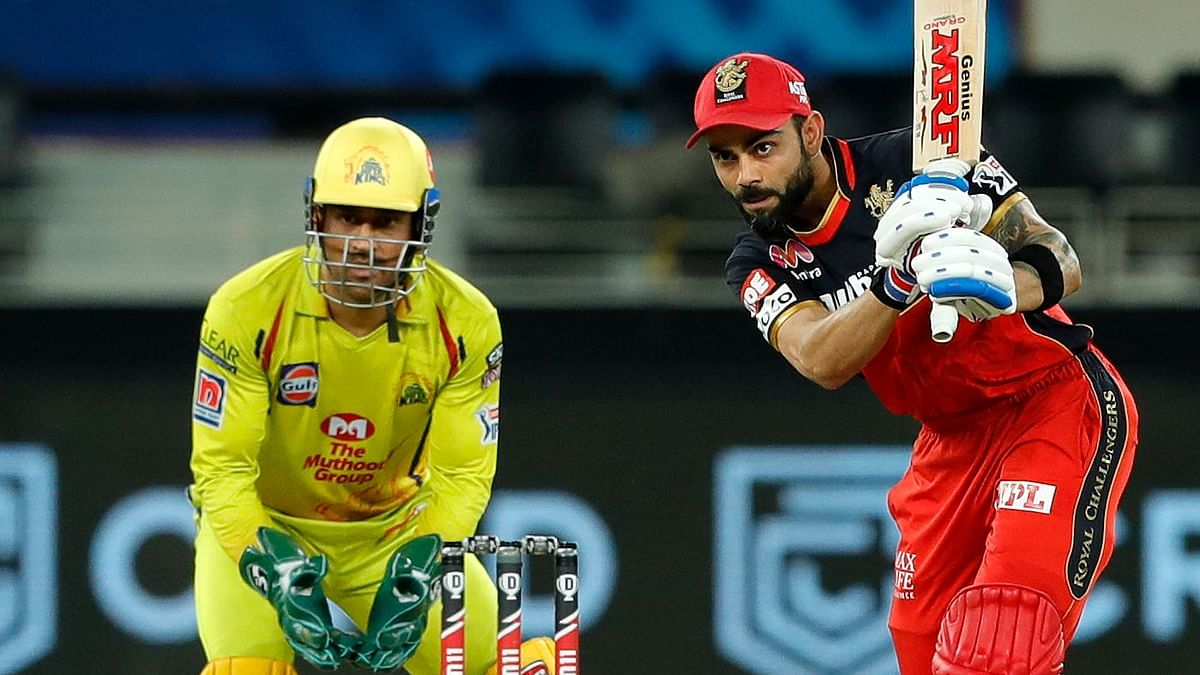 Virat's RCB beat MS Dhoni-led CSK on Saturday to move a place in the points table.