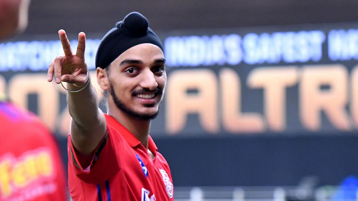 Arshdeep picked 3 wickets for 23 runs in the match against SRH, including 2 wickets in the final over of the match.