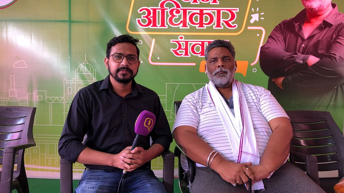 Pappu Yadav has been critical of Bihar Chief Minister Nitish Kumar – the chief ministerial candidate of the NDA.