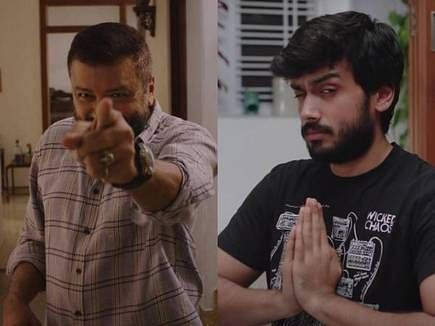 Jayaram and Kalidas in Ilamai Idho Idho.