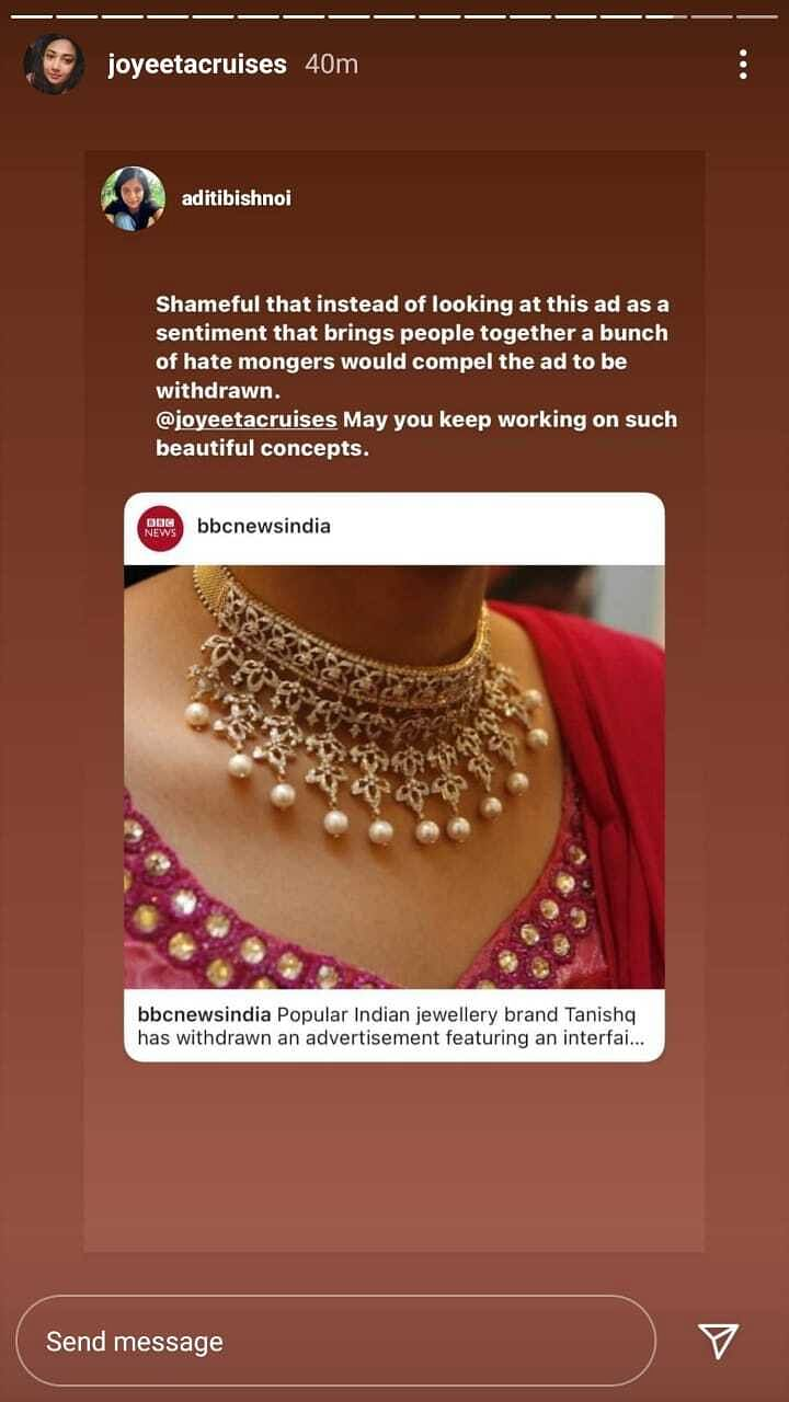 Pulled Ad in View of Hurt Sentiments, Staff's Well-Being: Tanishq