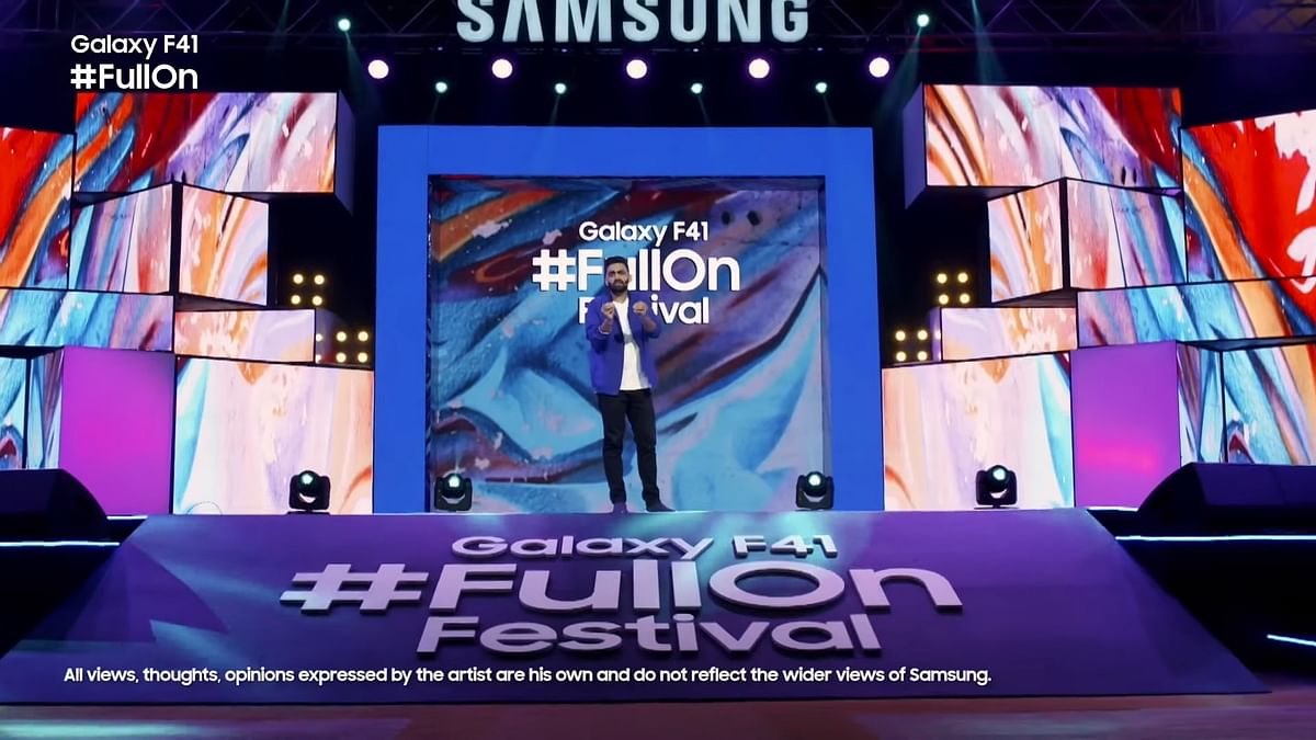 Here's All That Unfolded at the Samsung Galaxy F41 Launch Event