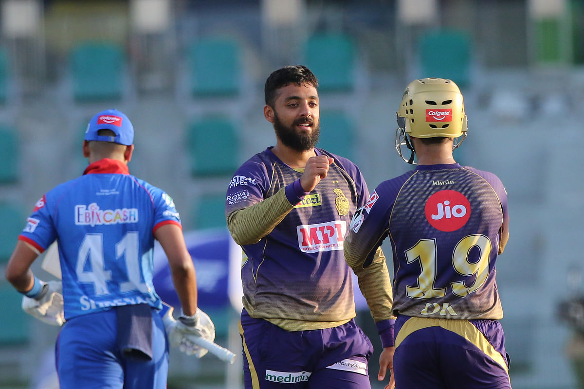 Chakravarthy's 5-Wicket Haul Helps KKR Thrash Delhi by 59 Runs