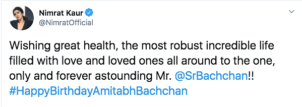 Amitabh Bachchan Writes About His 'Greatest Gift' From Fans