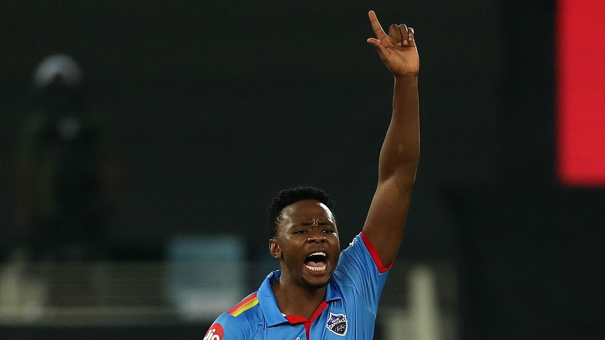 DC's Kagiso Rabada took 4 wickets against RCB.