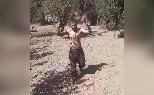 'Nobody Will Shoot': Dramatic Video Terrorist Surrendering in J&K