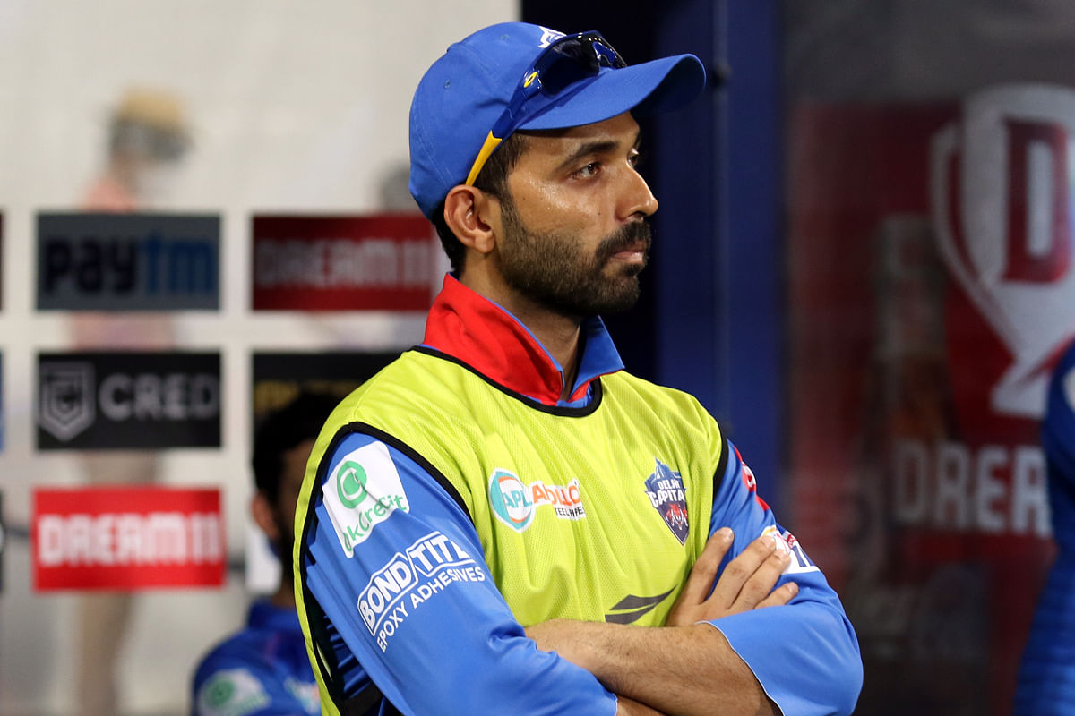 Delhi Capitals' Ajinkya Rahane had scored 393 runs in 14 matches at an impressive average of 32.75 last season.