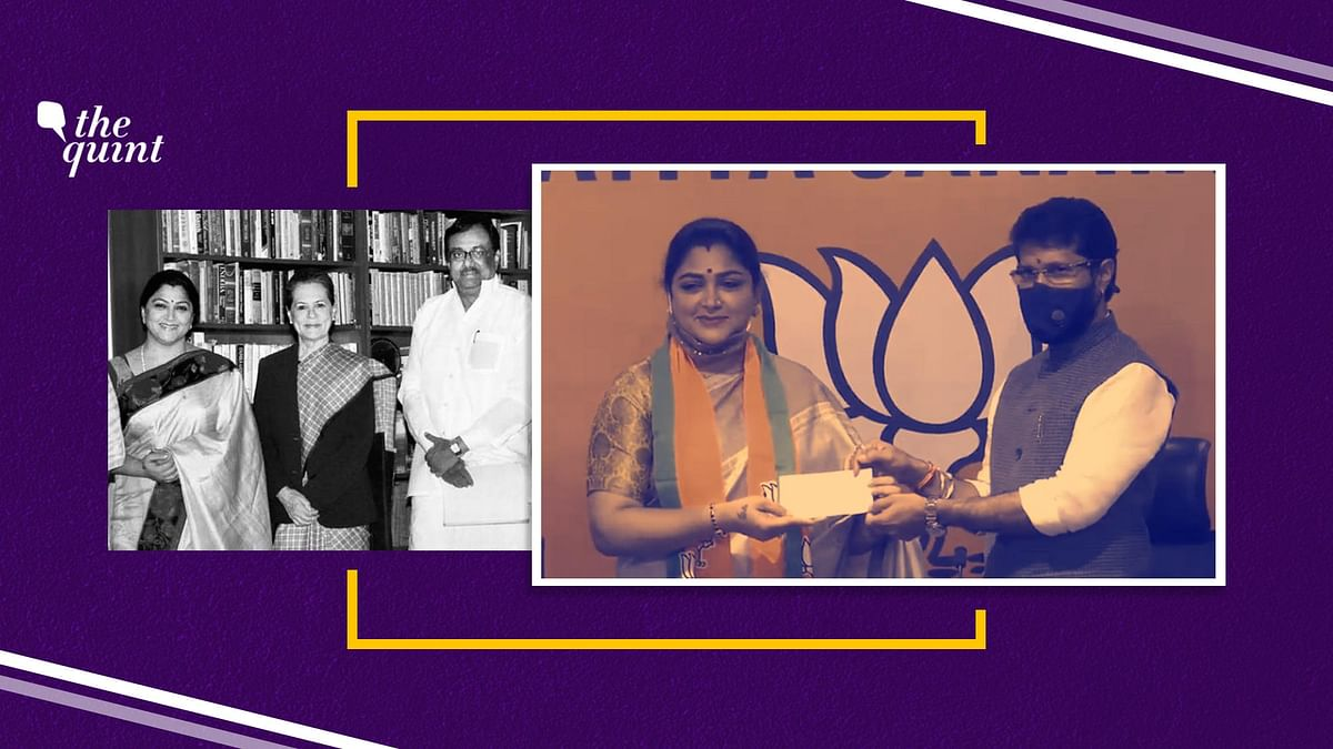 'Jumla Govt': How Khushbu Scoffed at the BJP Before Joining It