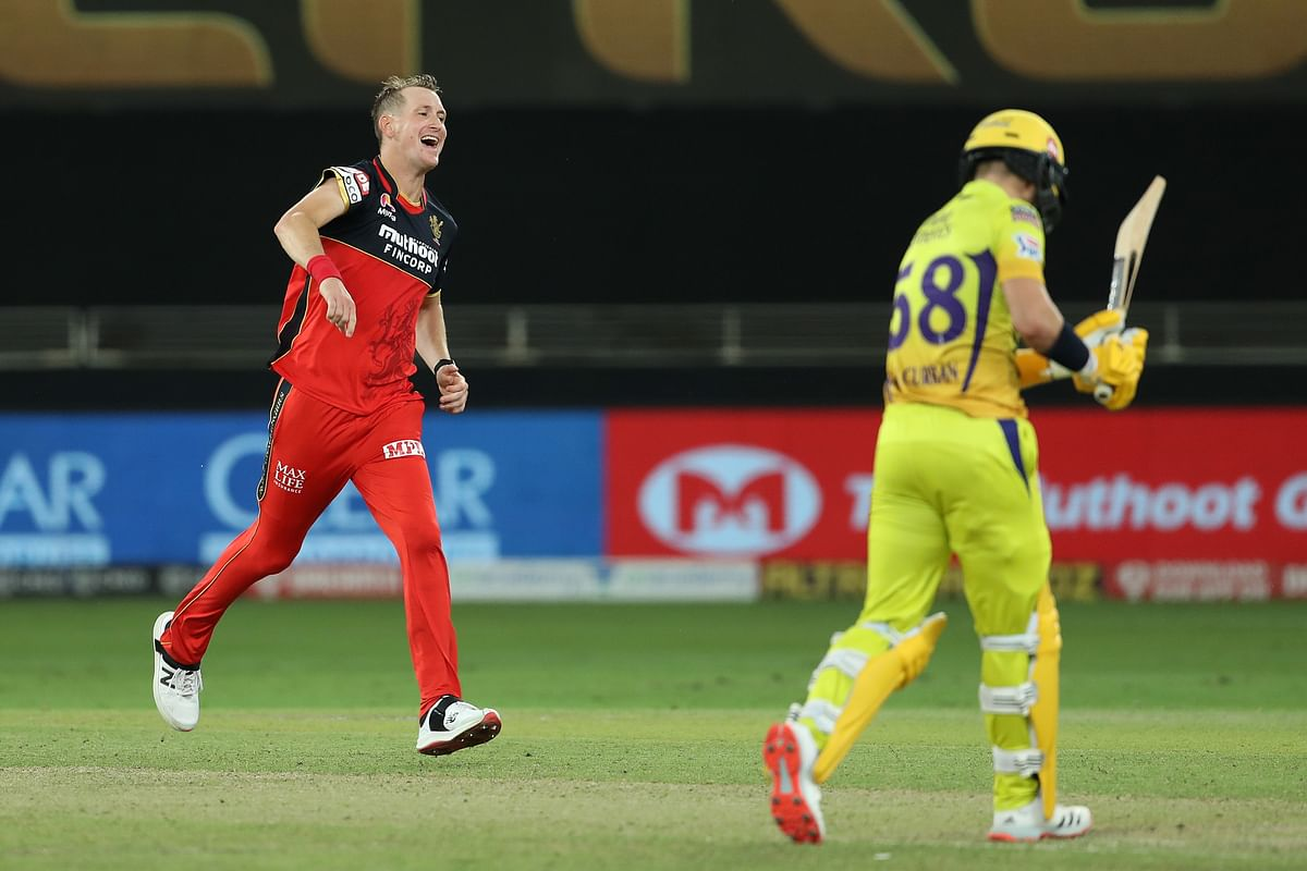 For RCB, Morris returned with impressive figures of 3/19.