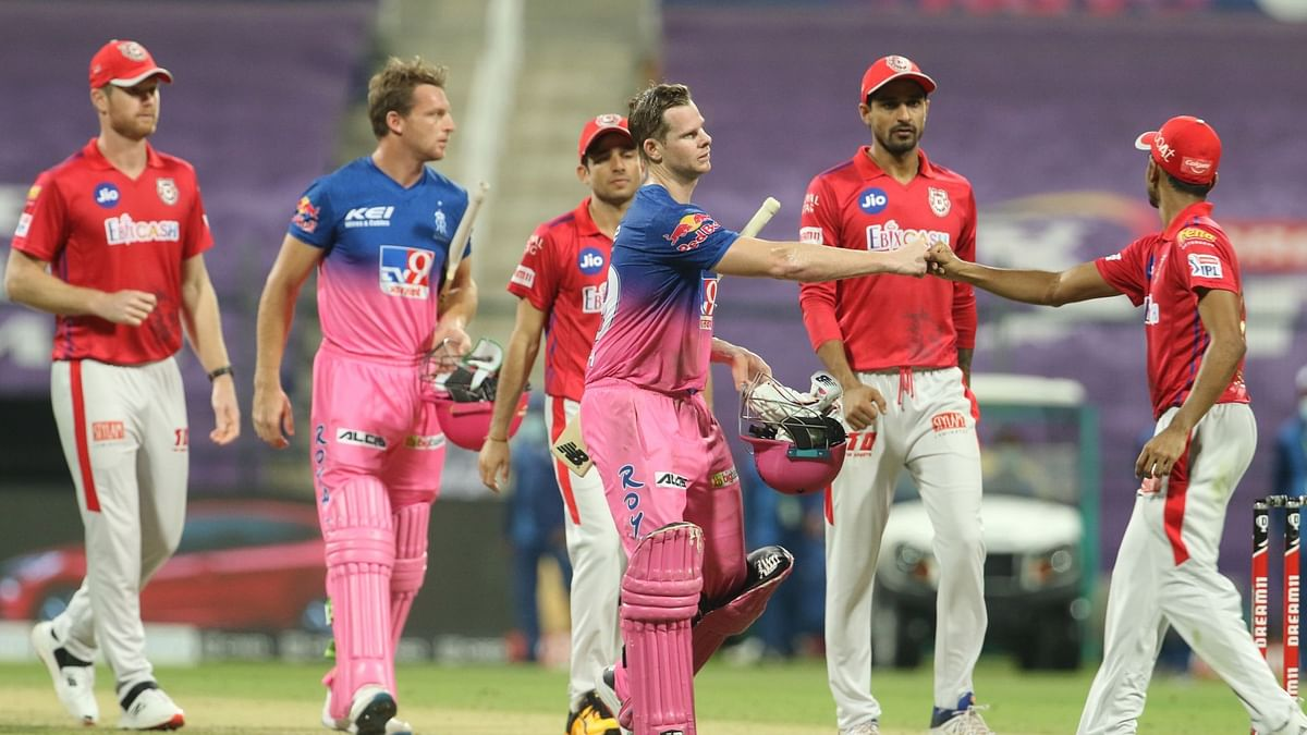 Rajasthan Royals defeated Kings XI Punjab by 7 wickets.