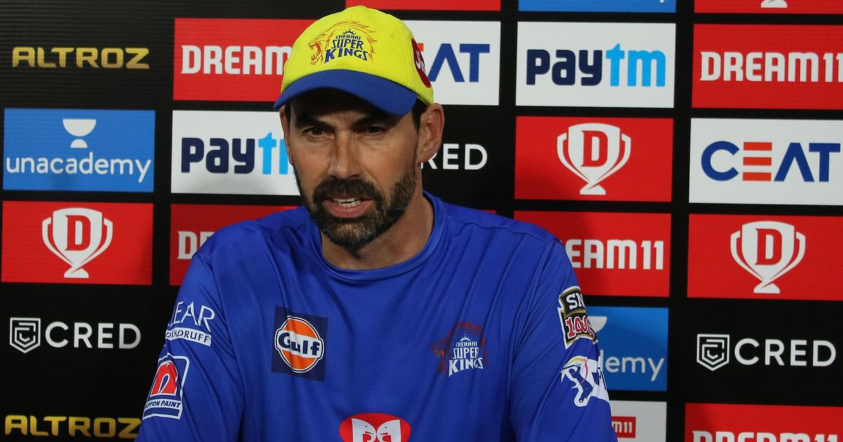 Coach Fleming Reveals What Went Wrong for CSK Batsmen Against RR